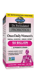 Dr. Formulated Once Daily Women's Probiotics