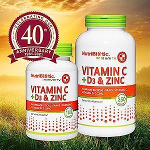 Vitamin C + D3 & Zinc - 520 & 521 - image
