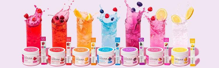 Seven Ultima Replenisher flavors