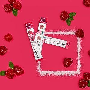Raspberry 20 Count Stickpacks