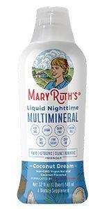 mary ruth organics nighttime multivitamin sleep aid liquid multimineral