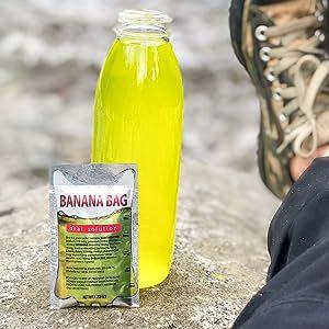 Banana bag bottle