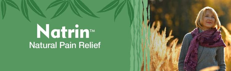 Natrin Natural Pain Relief Headaches Neck Pain Knee Pain