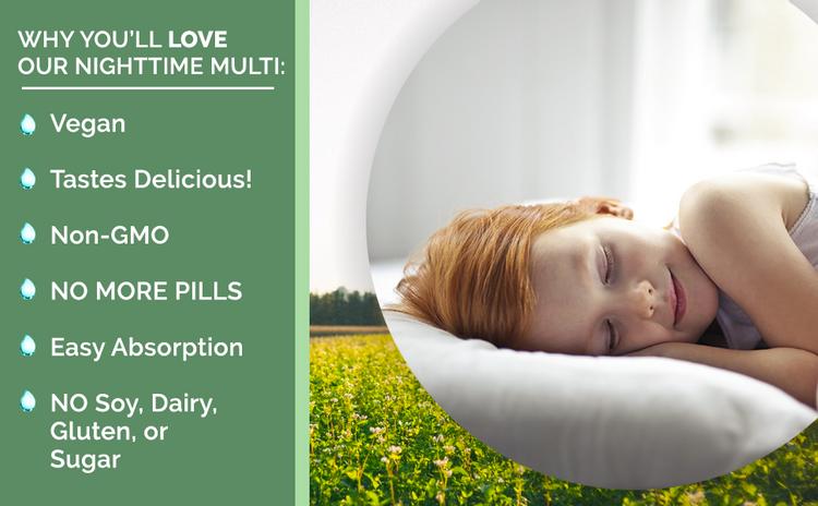 MaryRuth's Vegan Liquid Nighttime Multimineral Lemonade Dream