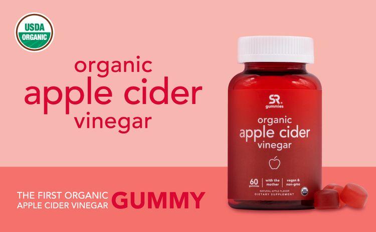Apple Cider Vinegar Organic Sports Research with mother vegan non gmo