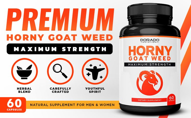 Horny Goat Weed Extract for Men and Women