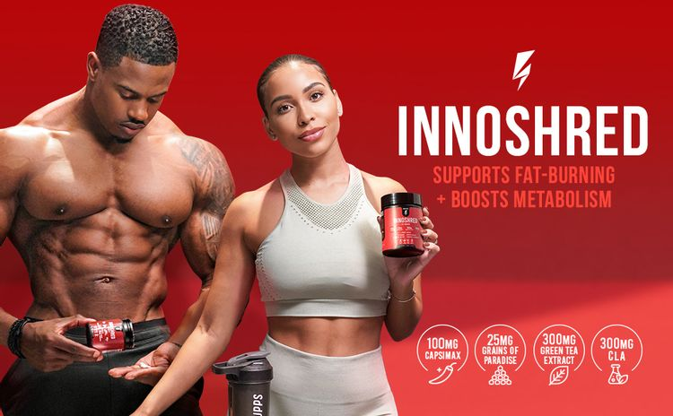 inno shred day time fat burner stimulant stimulant free weight loss boost metabolism cla supplement