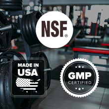 Manufactured in a cgmp and nsf certified facility