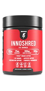 inno shred fat burner thermogenic for male and female supplement