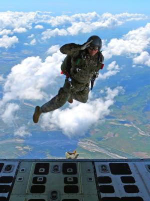 meg skydive