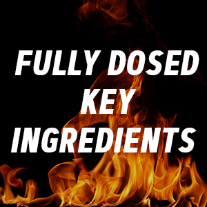 fully dosed key ingredients