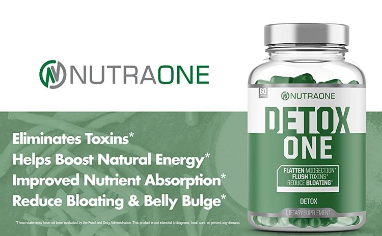 Nutraone DetoxOne Detox one detox supplement nutra one