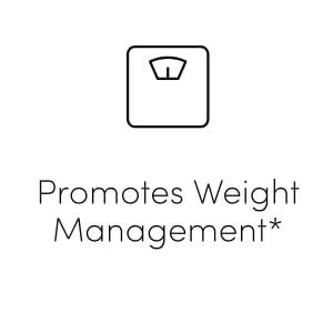 promotes weight management