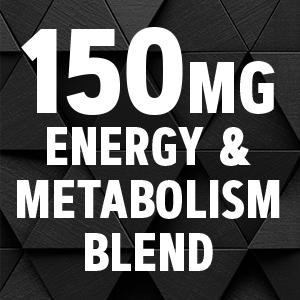 150mg energy & metabolism blend