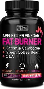 Apple Cider Vinegar Garcinia Cambogia CLA