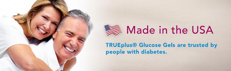 TRUEplus Glucose Gels Made in USA Diabetes Diabetic