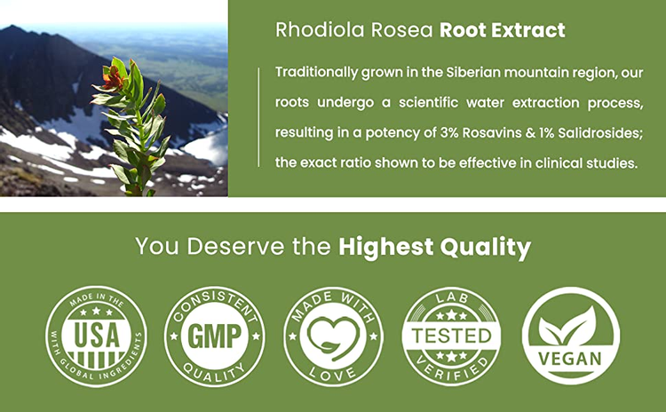 rosea rhodiola supplement