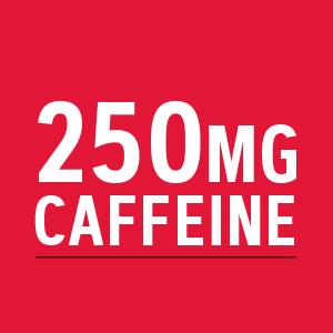 250mg caffeine