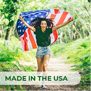 Manufactured in the USA in a registered, fully-compliant, modern, state-of-the-art facility.
