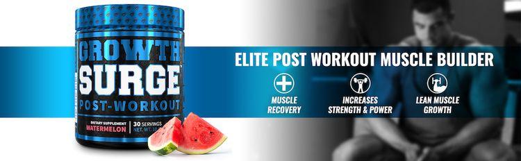 Growth Surge Watermelon - Elite Post-Workout Muscle Builder