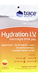 Trace Minerals, electrolytes, hydration, energy, performance, enfurance, immunity support