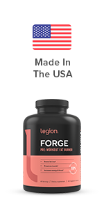 legion forge pre workout fat burner to help lose stubborn fat faster