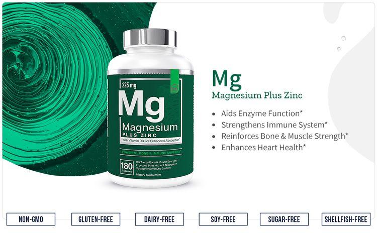 Magnesium Plus Zinc