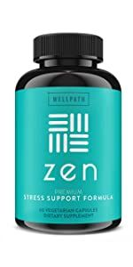 ZEN Anxiety and Stress Support Supplement