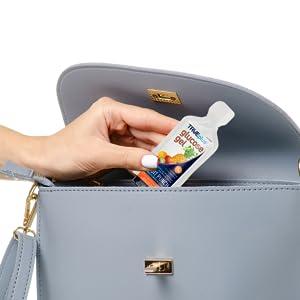 TRUEPlus Glucose Gel Convenient to Carry Pouch