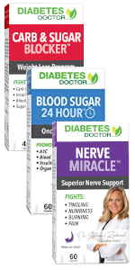 nerve miracle support alpha lipoic acid complete bundle diabetes doctor triple pack