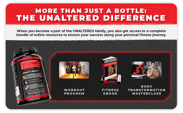 Comes with Workout Program, Fitness E-Book, and Body Transformation  Video Course