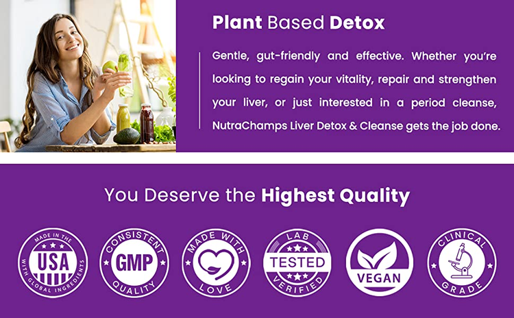 liver detox supplement for repair and cleanse