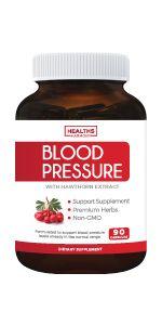 Cápsulas naturales de tratamiento de la presión arterial