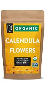 organic dried calendula flowers