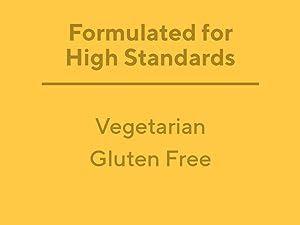 Vegetarian and gluten free vitamins