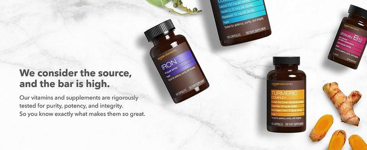 Multivitamin, gluten free, whole food vitamin, vitamins, supplements, Amazon Elements, daily vitamin