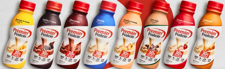 Premier Protein Shakes, 30g Shakes, Variety Pack Shakes, 30g Protein, 1g Sugar, Low Fat, 160 Calorie