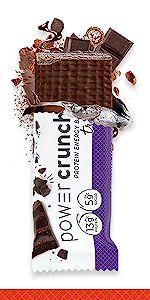 Triple Chocolate Power Crunch Protein Energy Bar