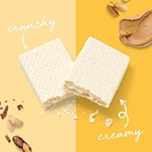 Crunchy and creamy