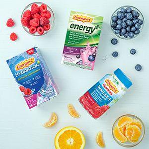 Emergen-C, EmergenC, Immune Plus, Vitamin C, Immune Support, Energy Powder, Gummies, Hydration