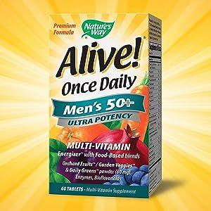 Alive once daily 50+ ultra potency