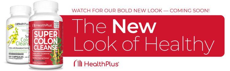 Health Plus Super Colon Cleanse 60 Banner
