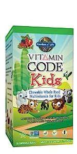 Vitamin Code Kids Chewable Multivitamin