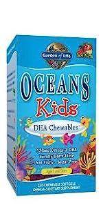 Oceans Kids DHA Chewables Omega-3