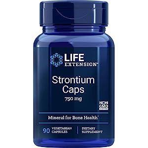 Strontium, 750 mg, 90 Vegetarian Capsules