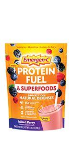 Emergen-C, EmergenC, Protein Smoothie Mix