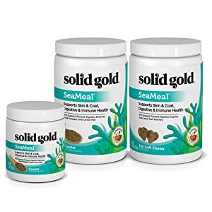 skin and coat, allergies, seaweed, kelp, dog supplement, cat supplement, immune health, puppy