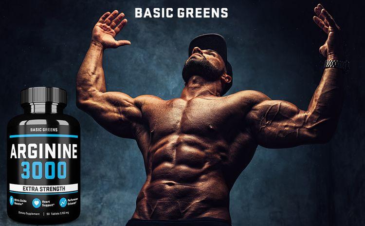 BASIC GREENS Arginine 3000