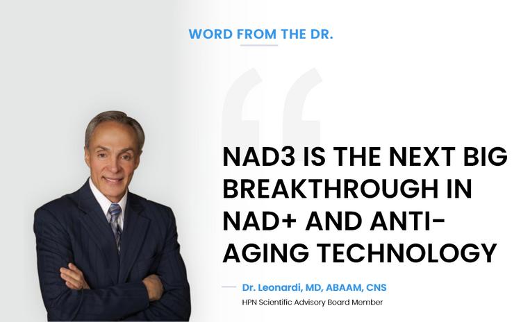 Leonardi Dr. Anti-aging NAD3