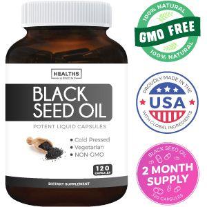 Healths Harmony Black Seed Oil Capsules